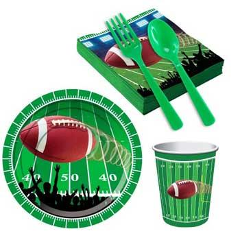 Football Baby Shower Snack Pack