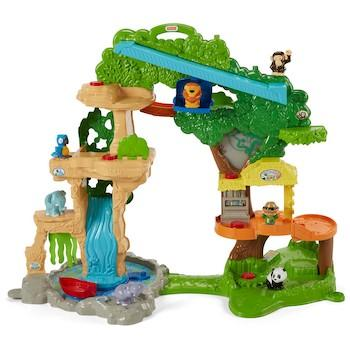 Best Educational Gifts for 1-Year-Olds Fisher-Price Little People Happy Animals Habitat Share and Care Safari