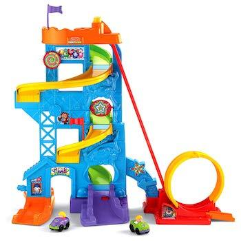 Best Gifts for 1-Year-Olds Fisher-Price Little People Loops 'n Swoops Amusement Park