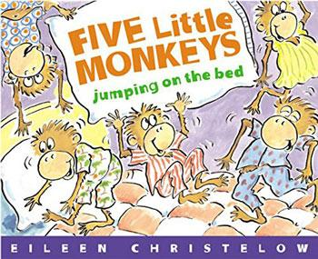 best baby book five little monkeys