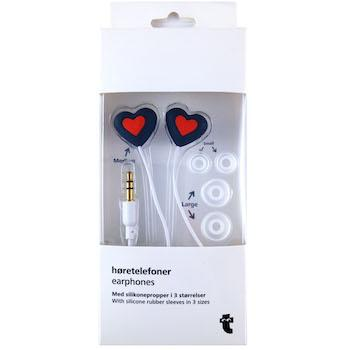 Best Valentine's Day Gift for Kids Who Love Music: Flying Tiger Heart Shaped Earphones