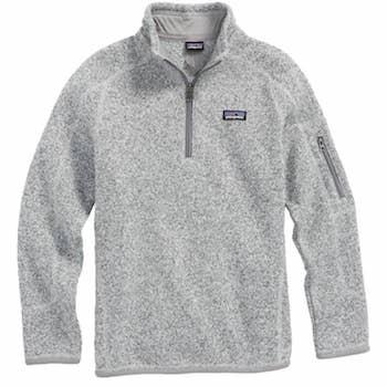 gifts for tweens patagonia better sweater quarter zip