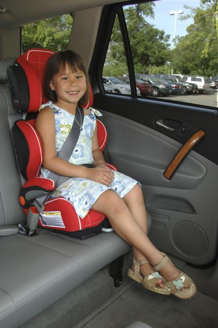 how old for a booster seat