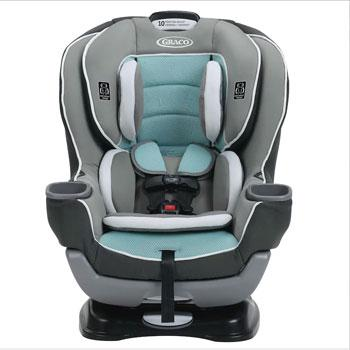 Graco Extend2Fit Rear Facing Convertible Car Seat
