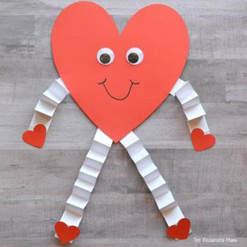 Valentine's Day Craft heart man