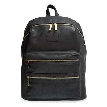 Best Gift Ideas for Moms The Honest Company City Faux Leather Diaper Backpack