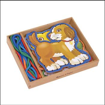 best travel toys lacing boards