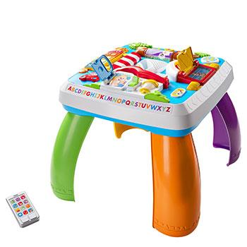 educational electronic toys laugh and learn table