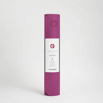 Pregnancy Workout Must-Haves Manduka Welcome Yoga and Pilates Mat