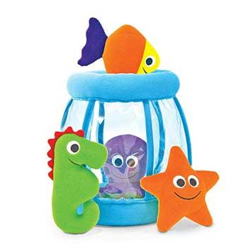 Holiday Baby Gifts Melissa & Doug Deluxe Fishbowl Fill and Spill