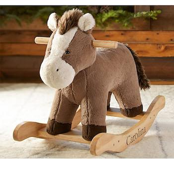 Best Gifts for 1-Year-Olds Pottery Barn Kids Nursery Horse Rocker