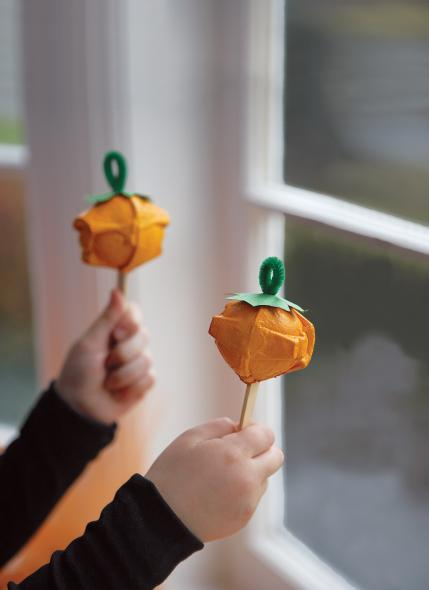 Thanksgiving Craft Ideas Maracas