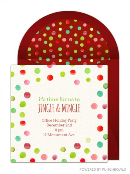 Our Favorite Christmas Party Invitations to Send This Year