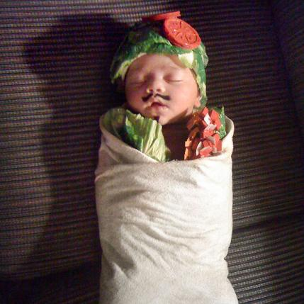 Oh Baby Hilarious Homemade Halloween Costumes For Babies