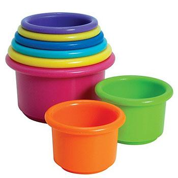 best travel toys stacking cups