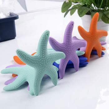 best teething toys silicone starfish