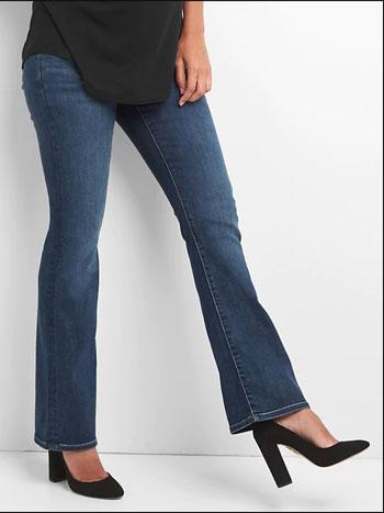 gap side panel maternity jeans