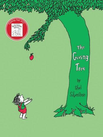 best baby book the giving tree