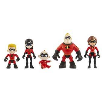 Inexpensive Christmas Gifts Incredibles Family Figures