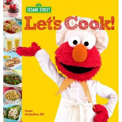 Sesame Street Let's Cook! Book Toddler Gifts for Christmas