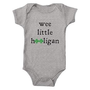 St. Patrick's Day Outfits for Baby Trunk Candy Wee Little Hooligan Infant One-Piece Bodysuit