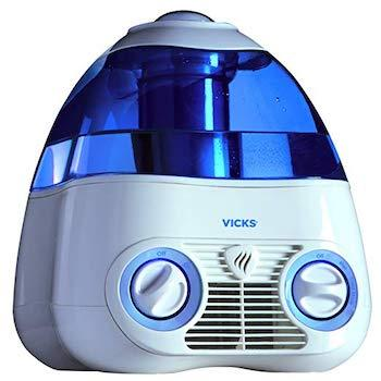 Best Humidifiers for Baby Vicks Starry Night Cool Moisture Humidifier with Light Up Star Display