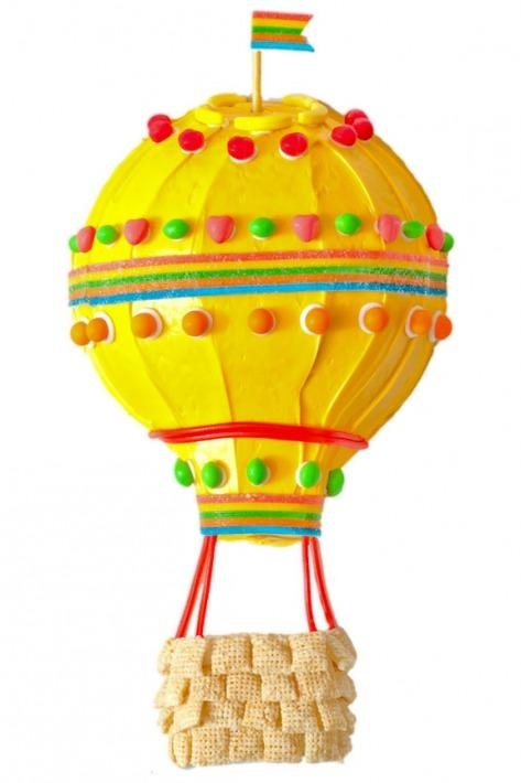 Hot Air Balloon Birthday Cake Design Parenting