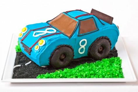 Race Car Birthday Cake Design