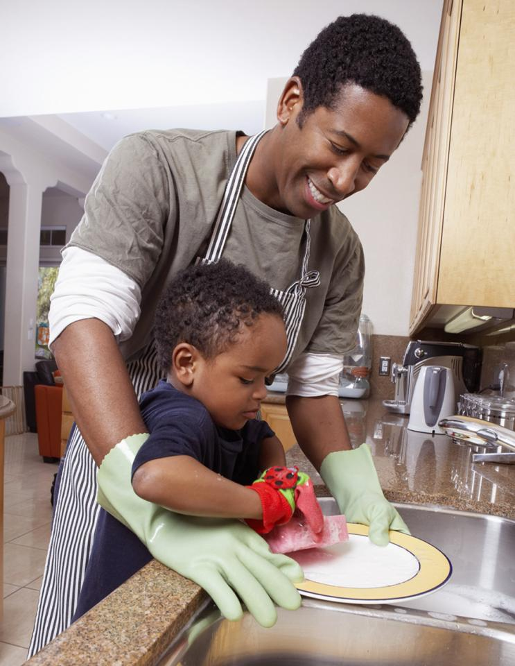 Dads Get The Kids To Help You Clean
