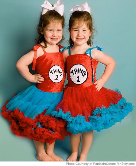 Costume of the Day  Thing 1 and Thing 2  1b84f6ca7