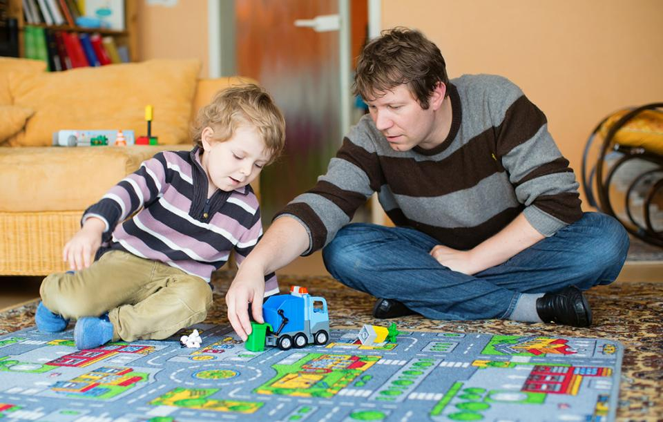 Indoor Activities For Dads Kids Parenting