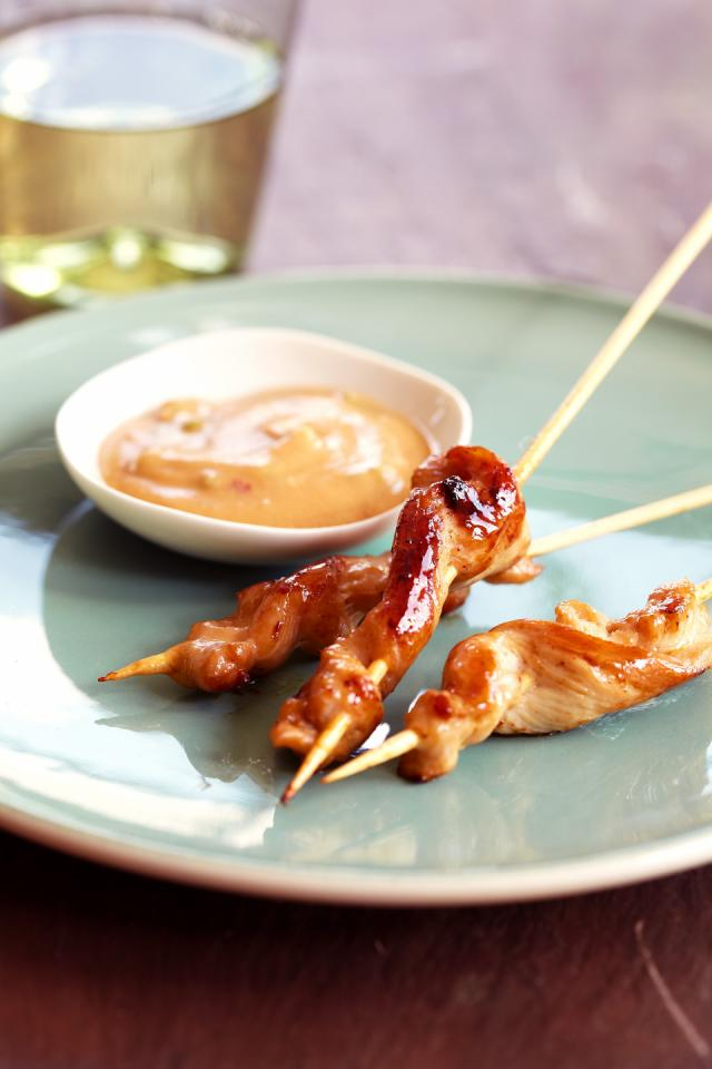 Chicken Kabobs With Peanut Sauce Parenting