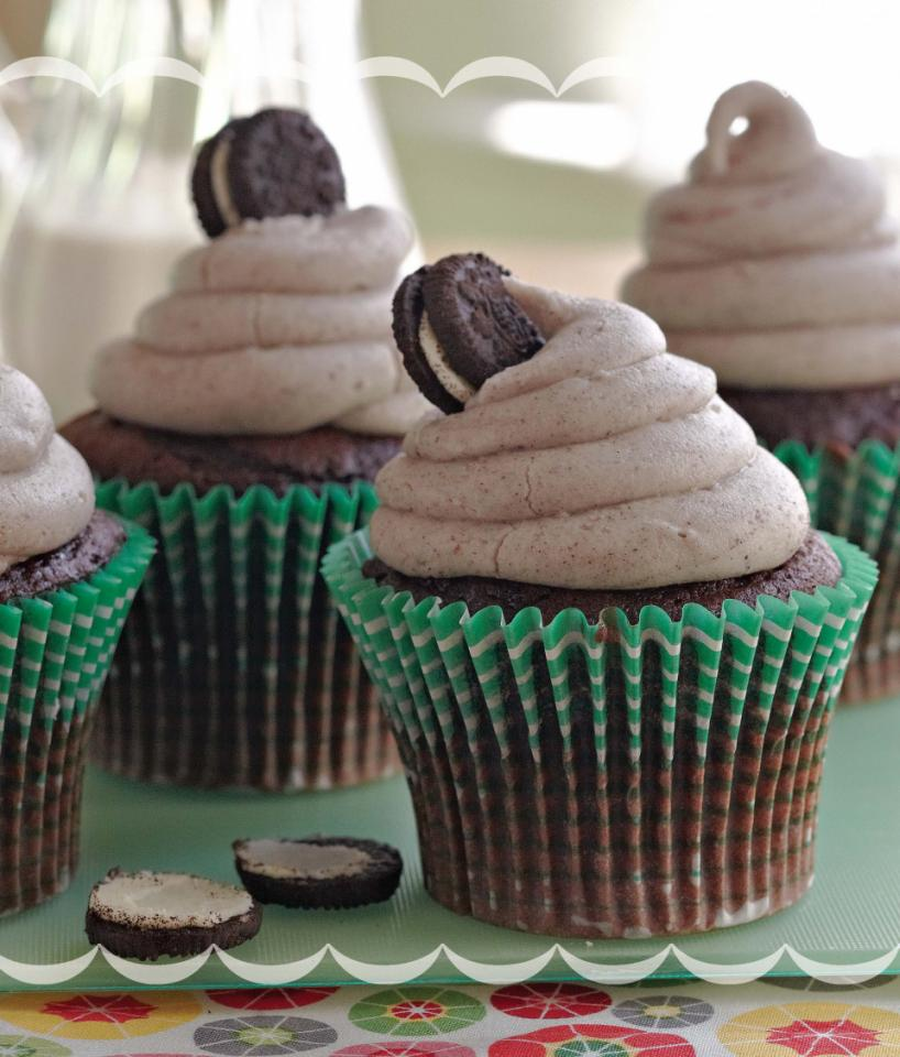 Cookies and Cream Cupcakes Parenting