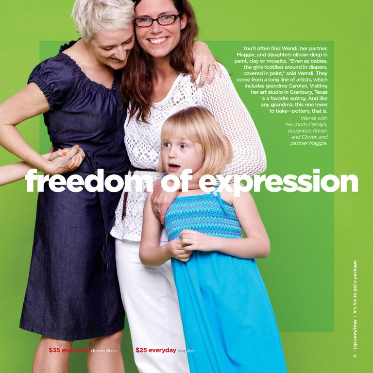 Conservative Group Condemns Jcpenney For Lesbians In Mothers Day Catalog
