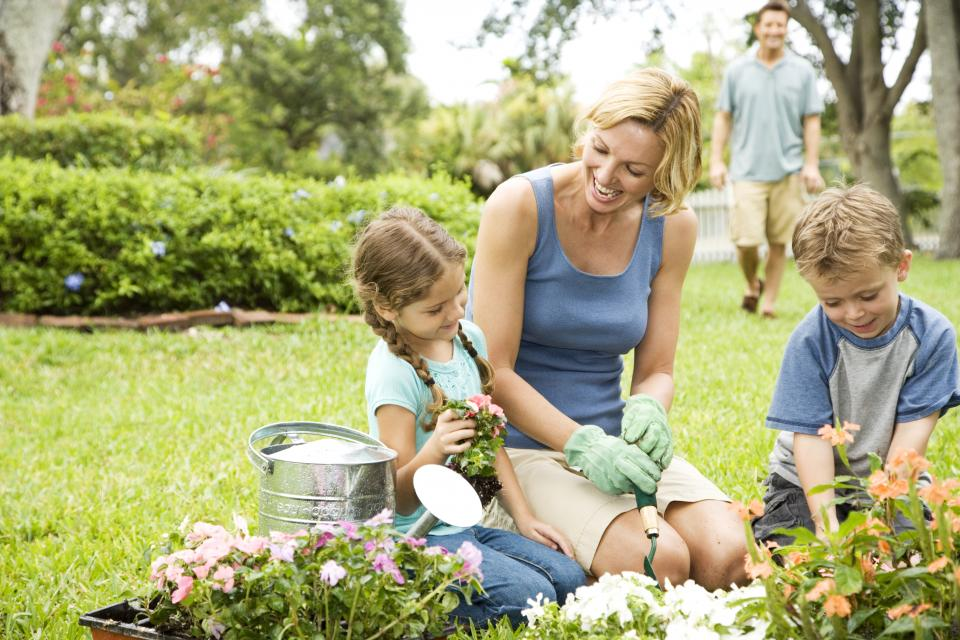 Image result for kids gardening