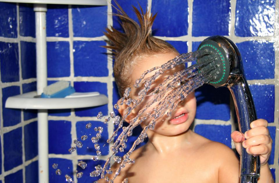 The Bath To Shower Transition How I Helped My Child Make
