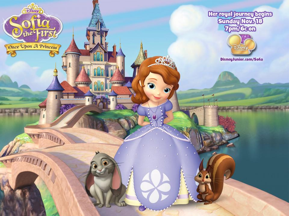 Set Your Dvrs Sofia The First Premieres On Disney Junior This