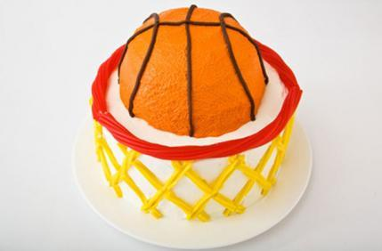 basketball with hoop birthday cake design parenting
