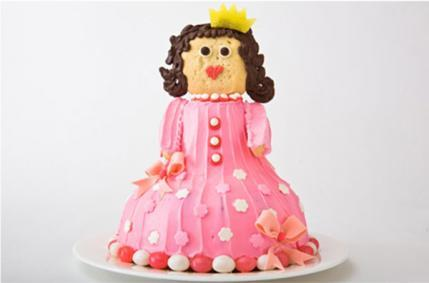 Princess Birthday Cake Design