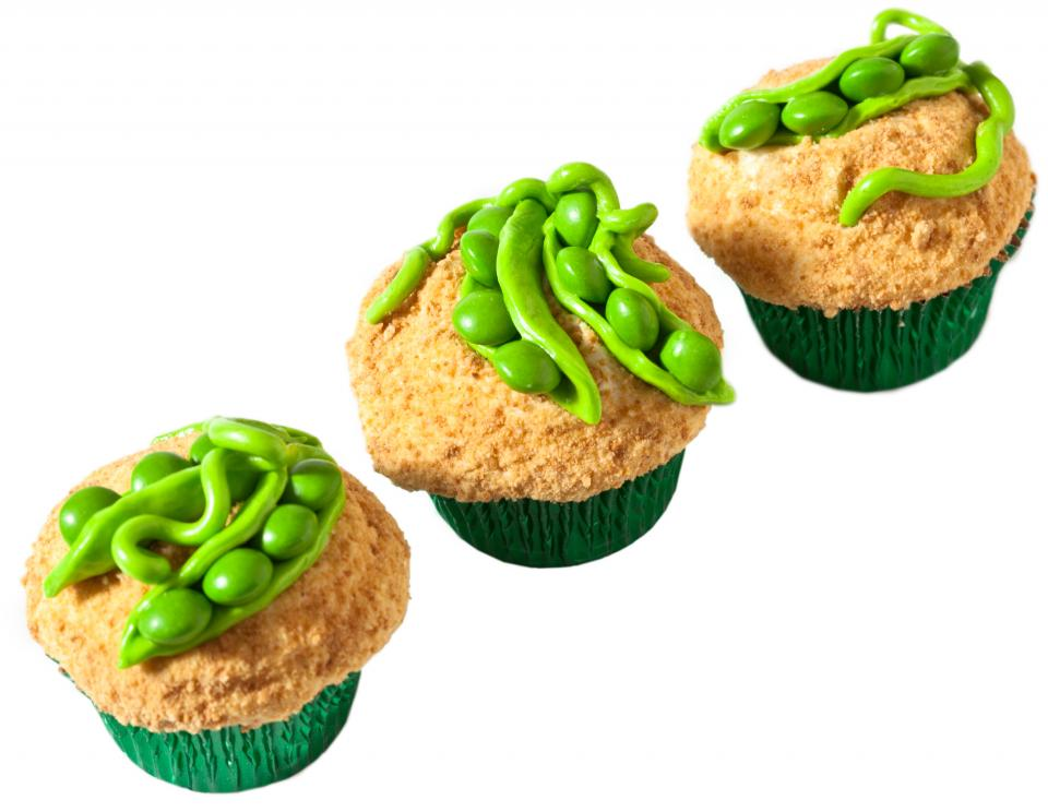 Sweet Peas In A Pod Cupcakes Parenting
