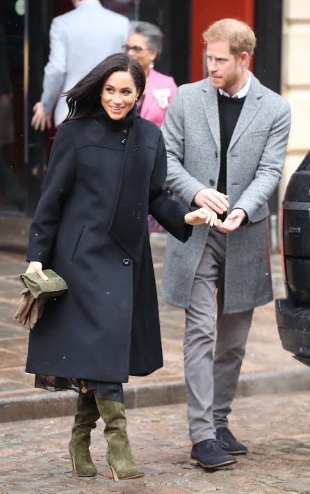 Pregnant Meghan Markle Has A Winter Weather Look You Ll Want To Copy