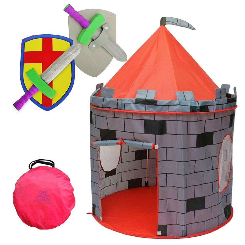 Kiddey Knight's Castle Kids Play Tent