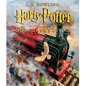Harry Potter And The Sorcerer's Stone Book (img credit: Walmart)
