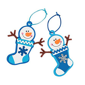 Snowman Ornament Kids Craft