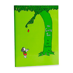 The GIving Tree Book (img credit: Bed Bath And Beyond)